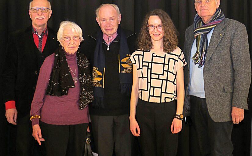 Johann-Hillen-Fonds: Lina Posėčnaitė schließt Musikstudium in Bremen ab